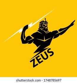 zeus logo vector design, icon