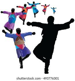 Zeybek dance of Turkey