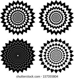 Zig Zag Circles