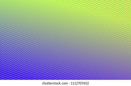 Zig Zag Lines, Gradient Background