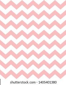 zig zag pattern, pink chevron background/wallpaper/cover design vector