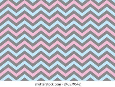 Zig zag seamless vector pattern