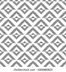 zig zag triangle pattern design