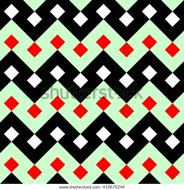 Zigzag pattern vector, ethnic motifs pattern background