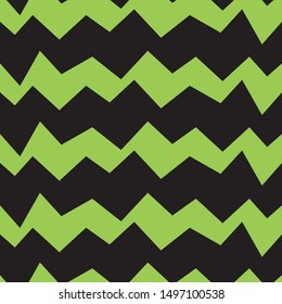 Zigzag seamless pattern template for children kids