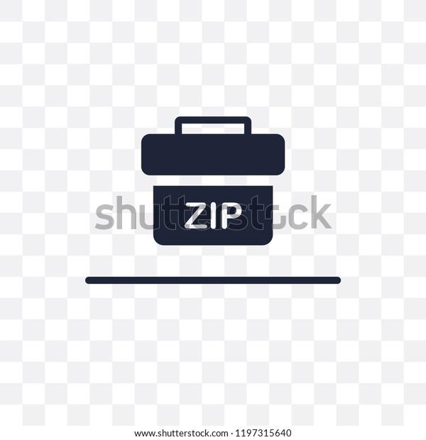 Zip Code Transparent Icon Zip Code Stock Vector (Royalty