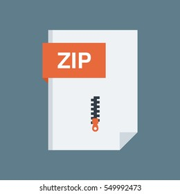 Zip File Type and Extension