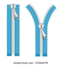 Bronze Zipper Doll Slider Zipper Head Stock Photo (Edit Now