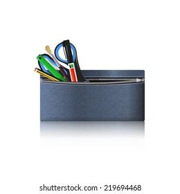 Zipper pencil case