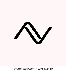 ZN / NZ letter vector logo. VectorCR/ RC letter vector logo. Vector