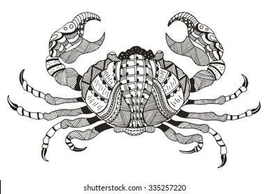 Cancer Zodiac Images, Stock Photos & Vectors   Shutterstock