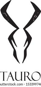 zodiac sign taurus handmade graphic