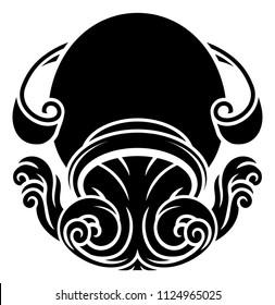 Aquarius Tattoo Zodiac Images, Stock Photos \u0026 Vectors