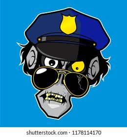 Zombie Cartoon Character Design