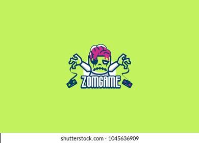 Zombie game logo