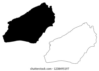 Zonguldak (Provinces of the Republic of Turkey) map vector illustration, scribble sketch Zonguldak ili map