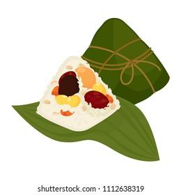 Zongzi,  Chinese Rice Dumpling