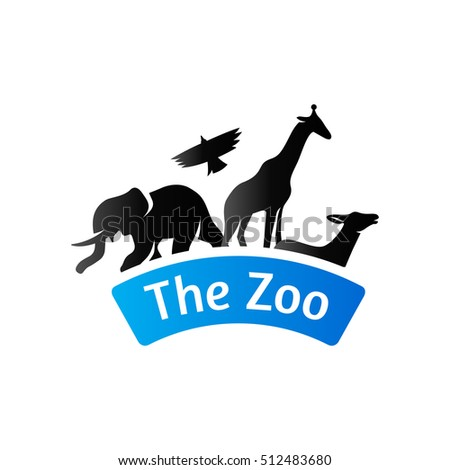 Zoo Gate Icon Duo Tone Color Stock Vector (Royalty Free) 512483680 ...