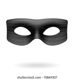 Zorro mask. Vector.