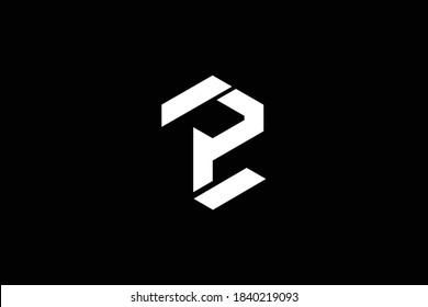 ZP letter logo design on luxury background. PZ monogram initials letter logo concept. ZP icon design. PZ elegant and Professional letter icon design on black background. Z P PZ ZP