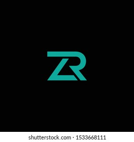 ZR logo and icon designs
