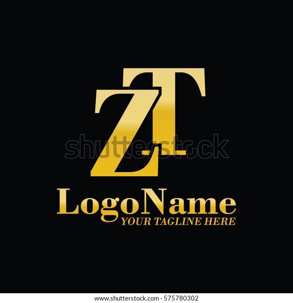Zt Logo Stock Vector (Royalty Free) 575780302