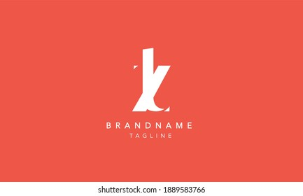 ZT Lowercase Letter Initial Icon Logo Design Vector Illustration