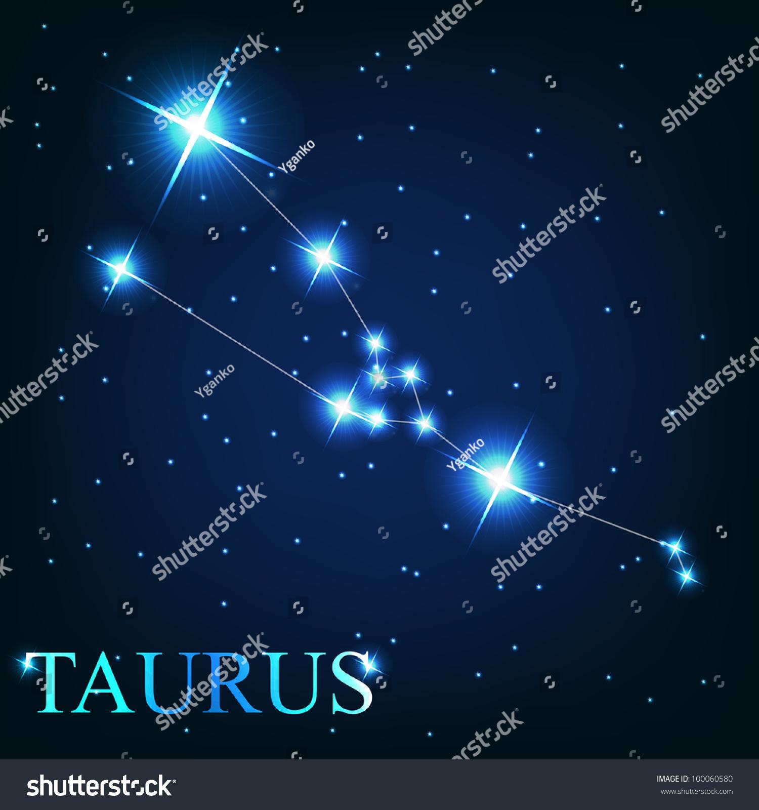 Zodiac Sign Taurus Stock Photo Taurus Zodiac Sign Of The Beautiful