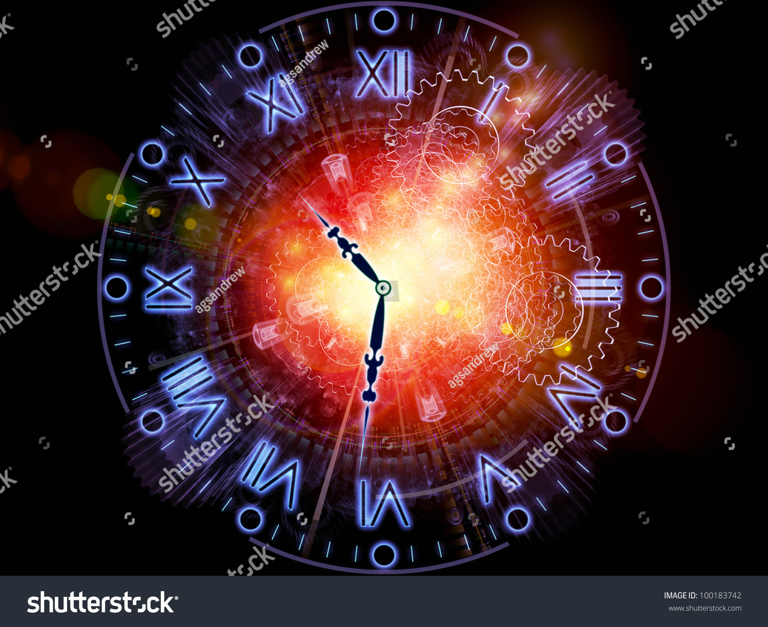 and clock abstract concept - photo #19