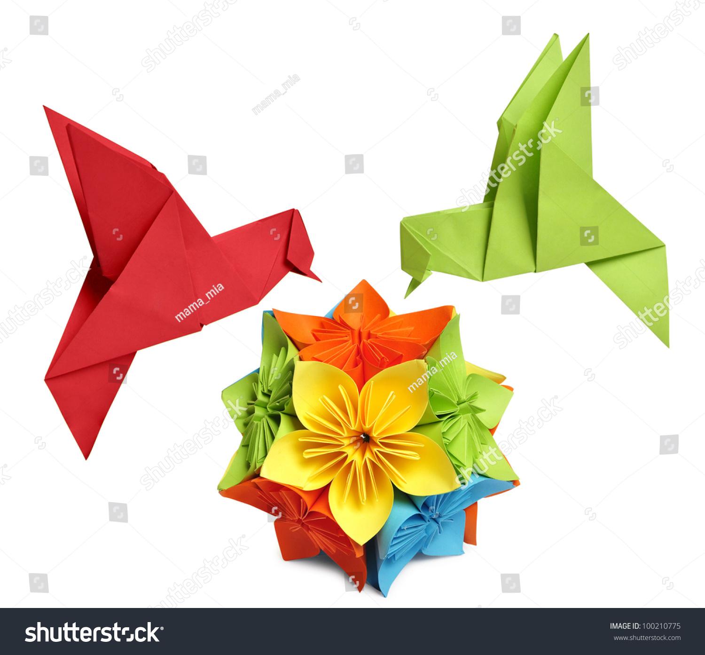 An Easy-to-fold Origami Hummingbird   1393x1500