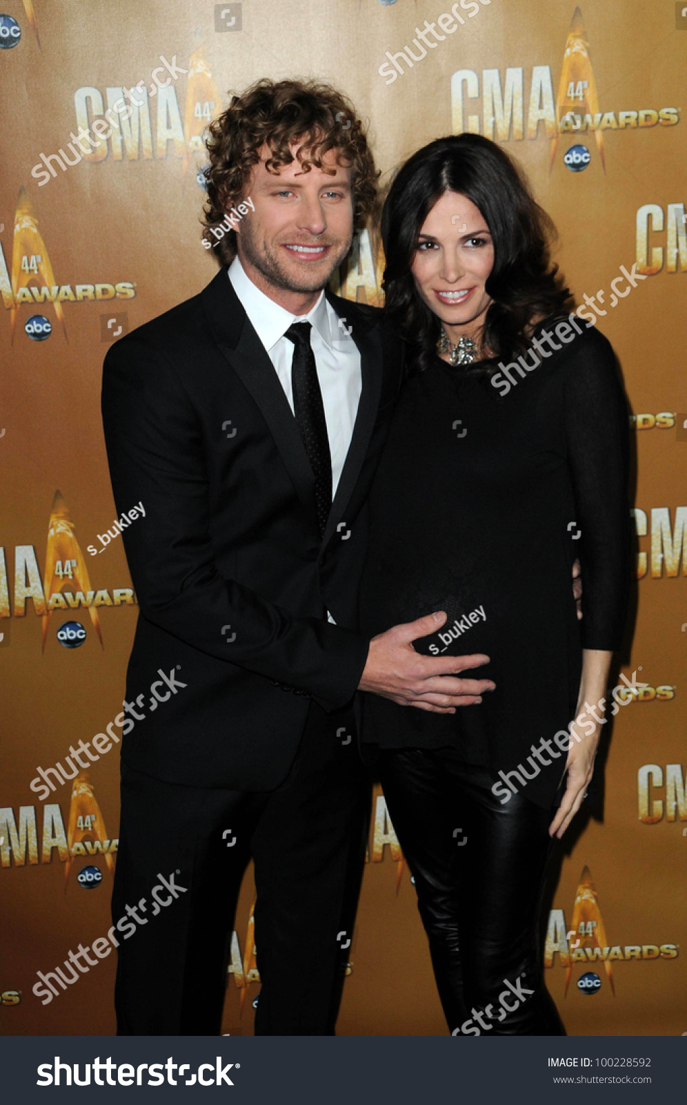 Dierks Bentley And Cassidy Black At The 44th Annual Cma