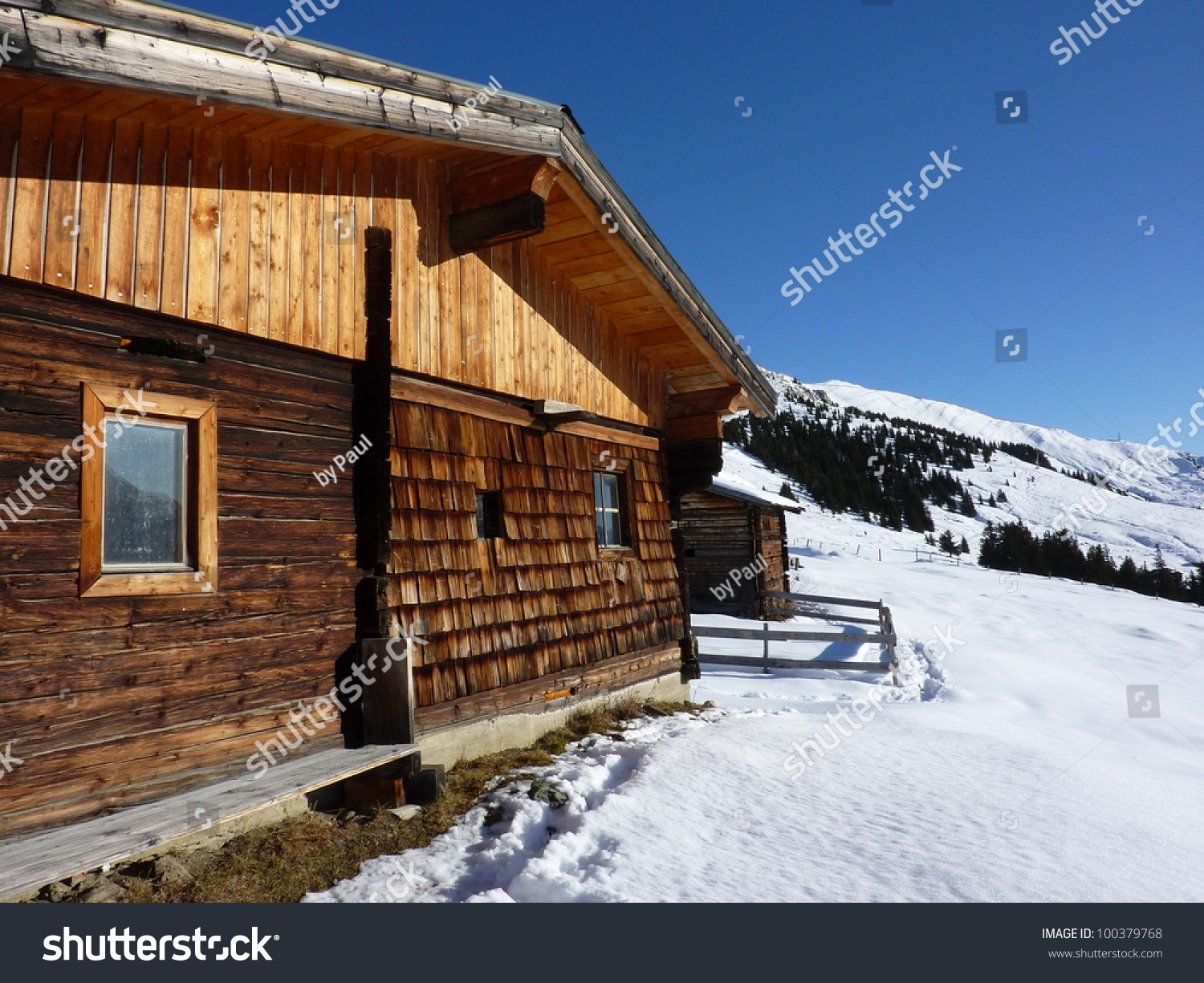 ski lodge in winter - photo #5