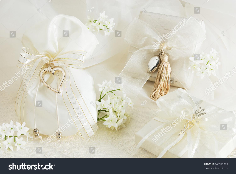 Wedding Sugar Almonds Pouch Flowers Stock Photo (Edit Now)- Shutterstock