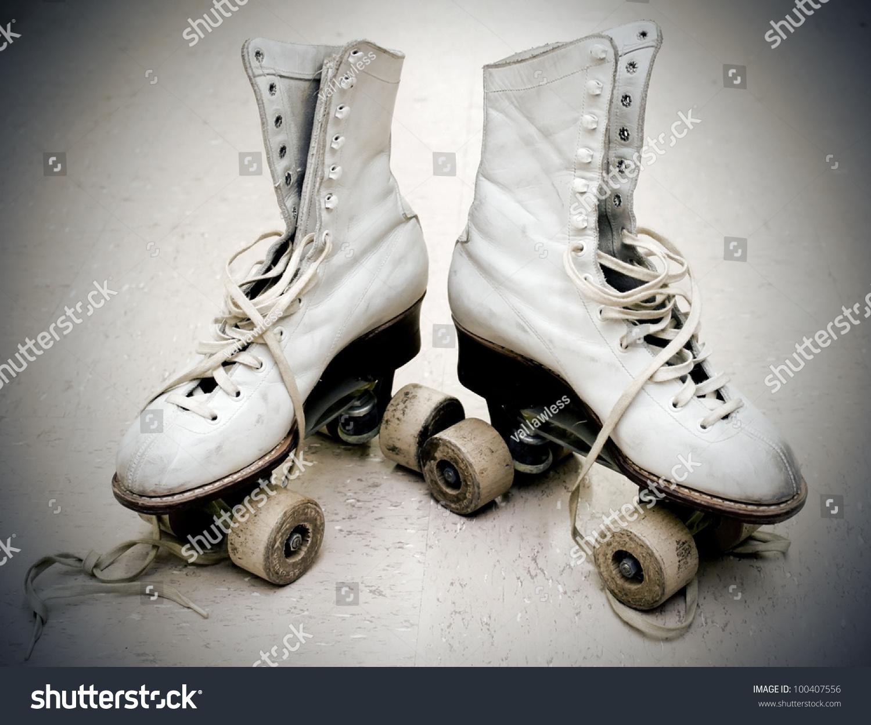 Roller skates vintage - Old Roller Skates In Vintage Light