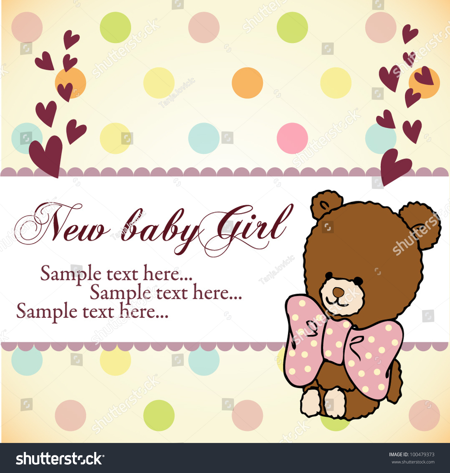 baby shower invitation card stock vector   shutterstock, Baby shower