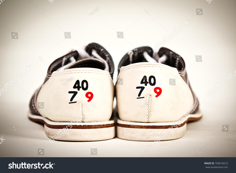 Bowling Shoe Shoe Size Stock Photo 100516612 - Shutterstock