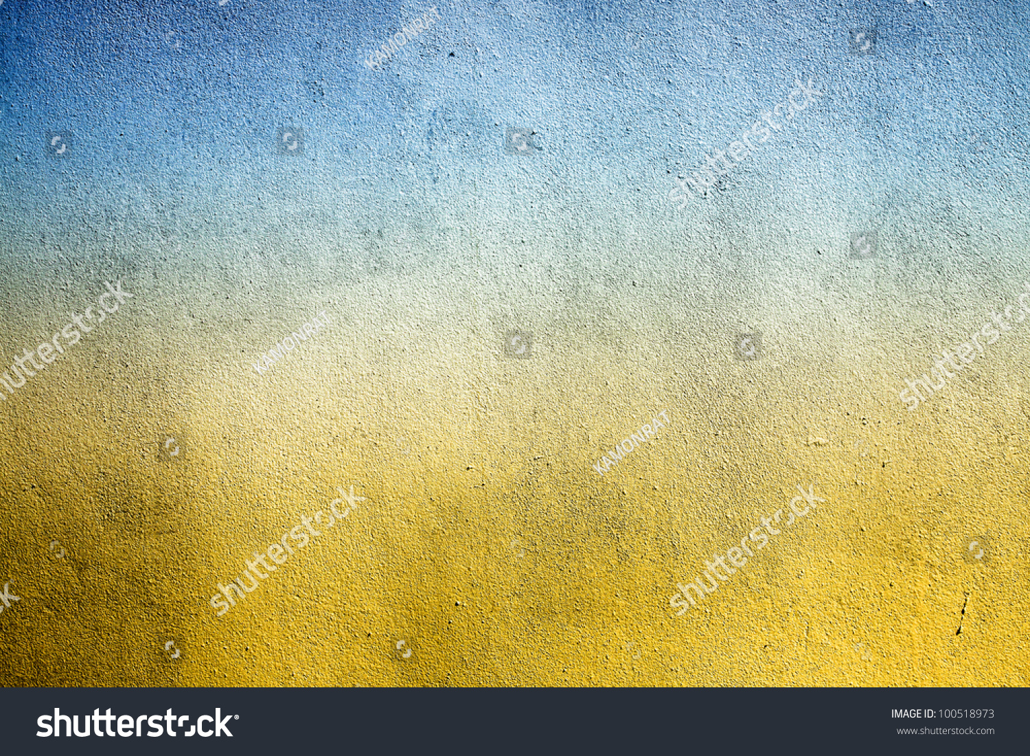 grunge cement wall color blue yellow can be used as background stock photo 100518973 shutterstock. Black Bedroom Furniture Sets. Home Design Ideas