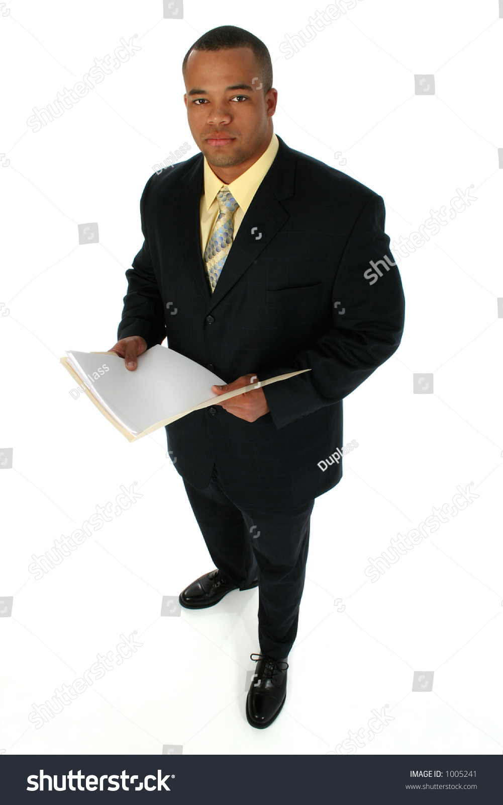 Handsome African American Business Man Dressed Stock Photo 1005241 ...