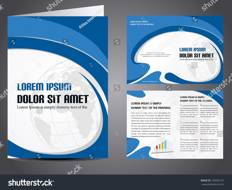 corporate brochure design templates - professional business catalog template corporate brochure