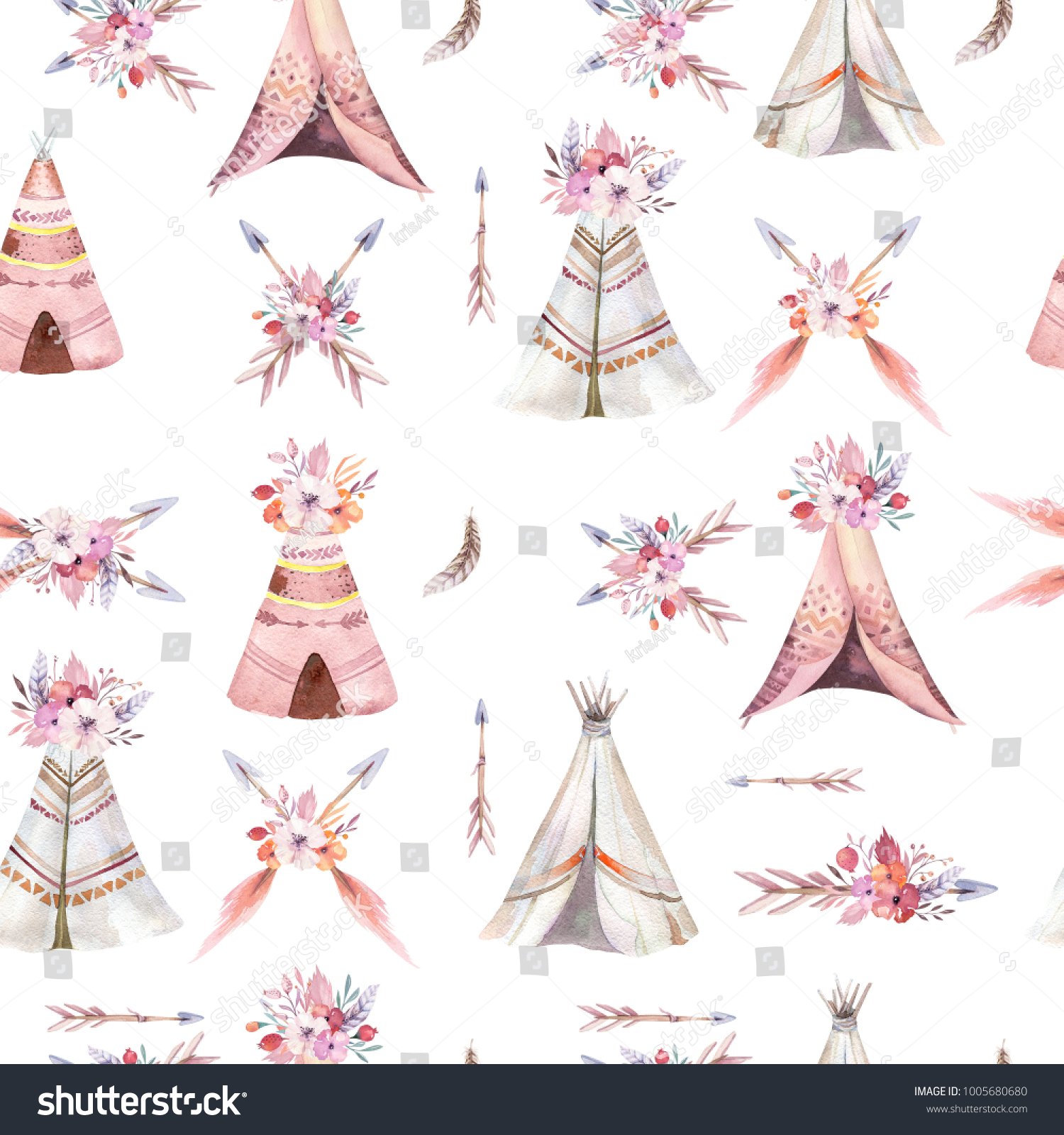 Charming Teepee Template Gallery