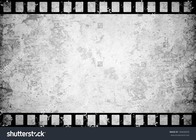 Old Film Reel Texture Old Paper Film Strip B...