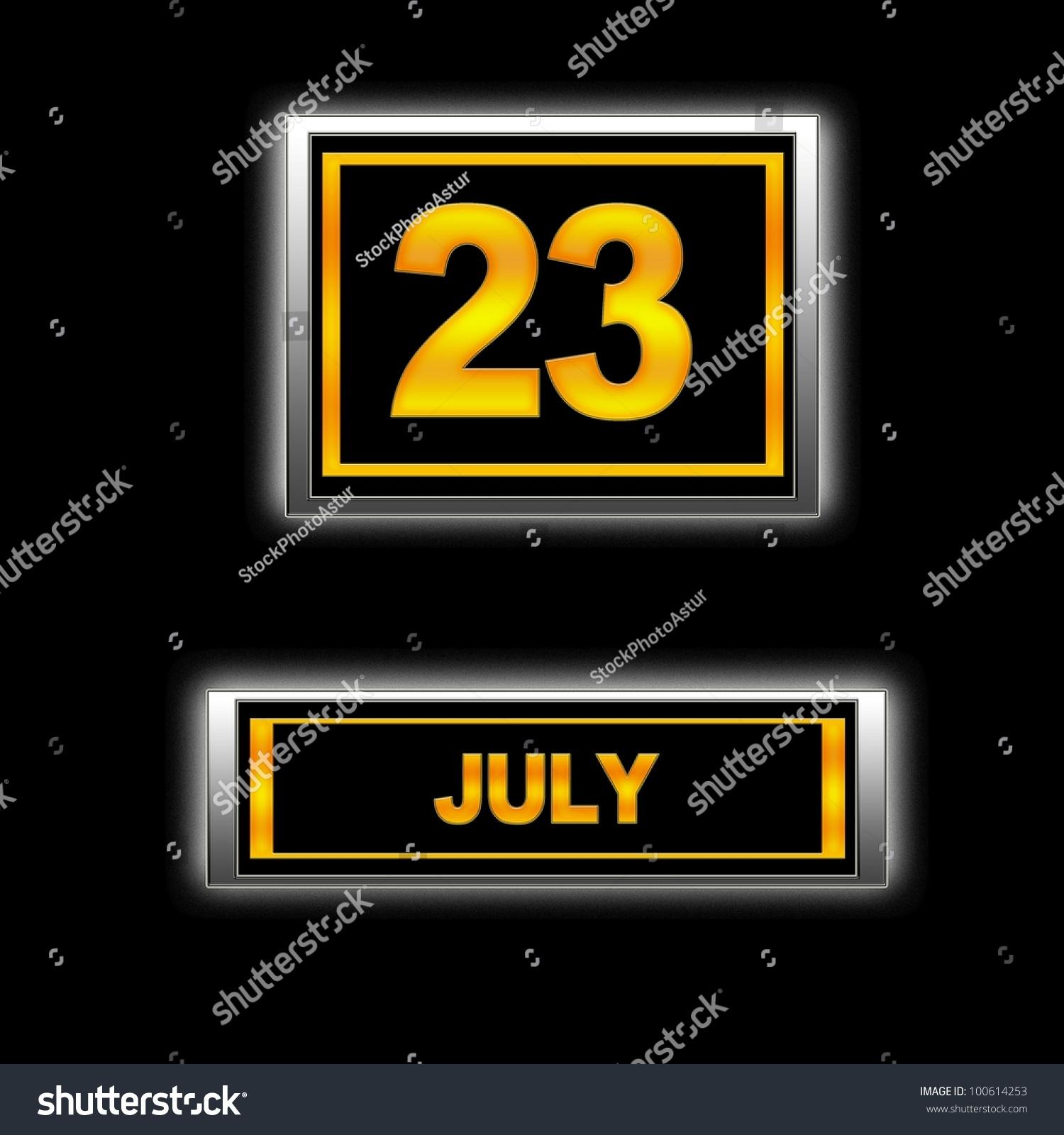 July 23 #