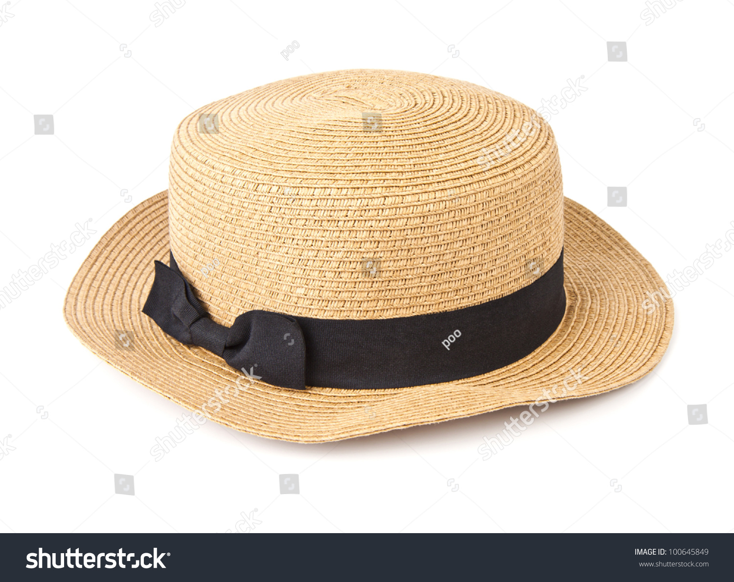 5bba6080561 Weaving hat with clipping path isolated on white background.