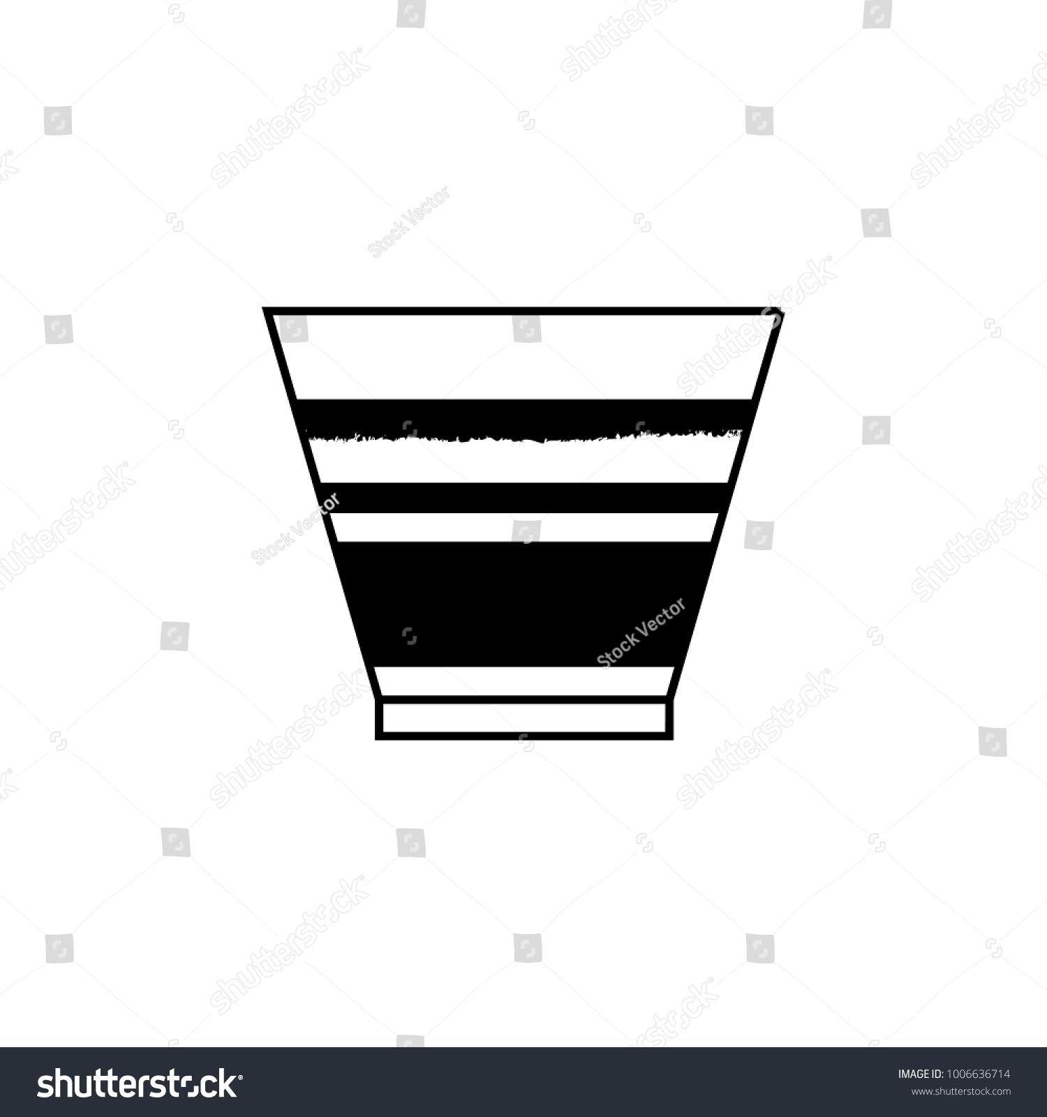 Marochino Icon Element Italian Cuisine Icons Stock Illustration