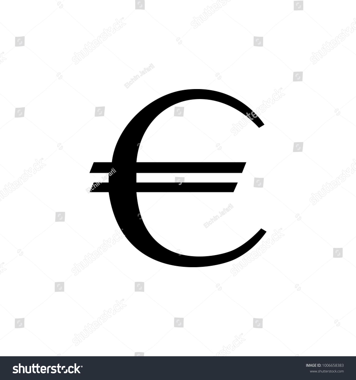 Euro sign icon element money symbol stock illustration 1006658383 euro sign icon element of money symbol icon premium quality graphic design icon buycottarizona Gallery