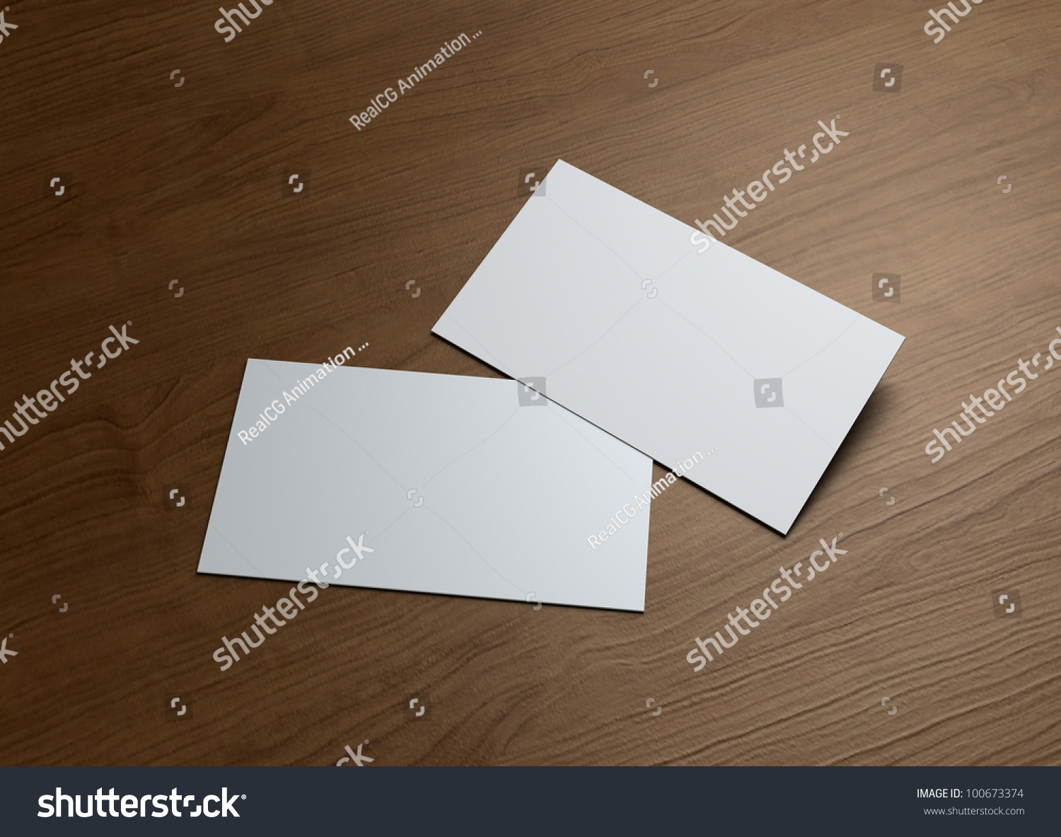 Formal Style Business Cards Presentation Corporate Stock ...