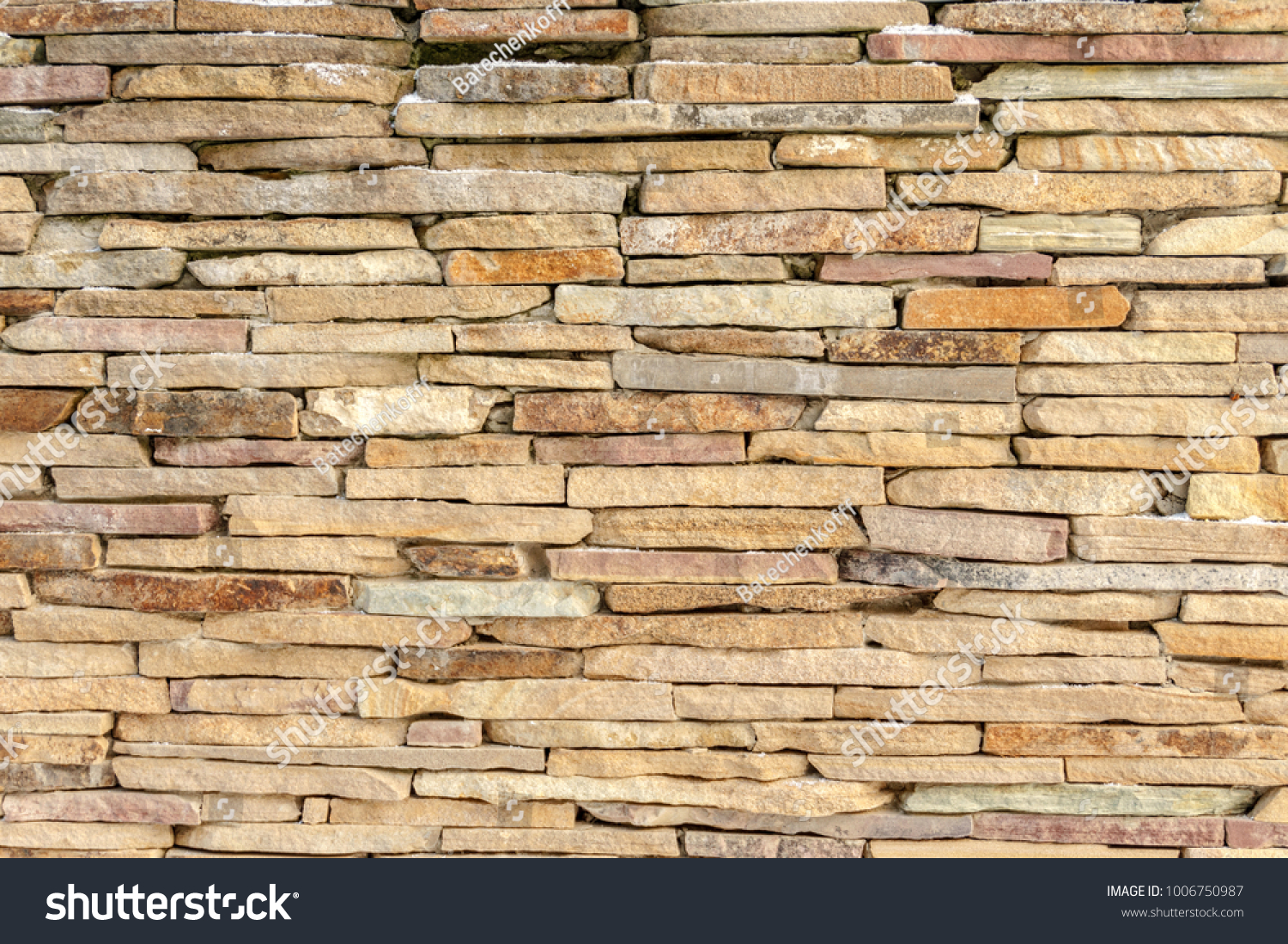 Old block wall background and texture / With Copy Space   EZ Canvas