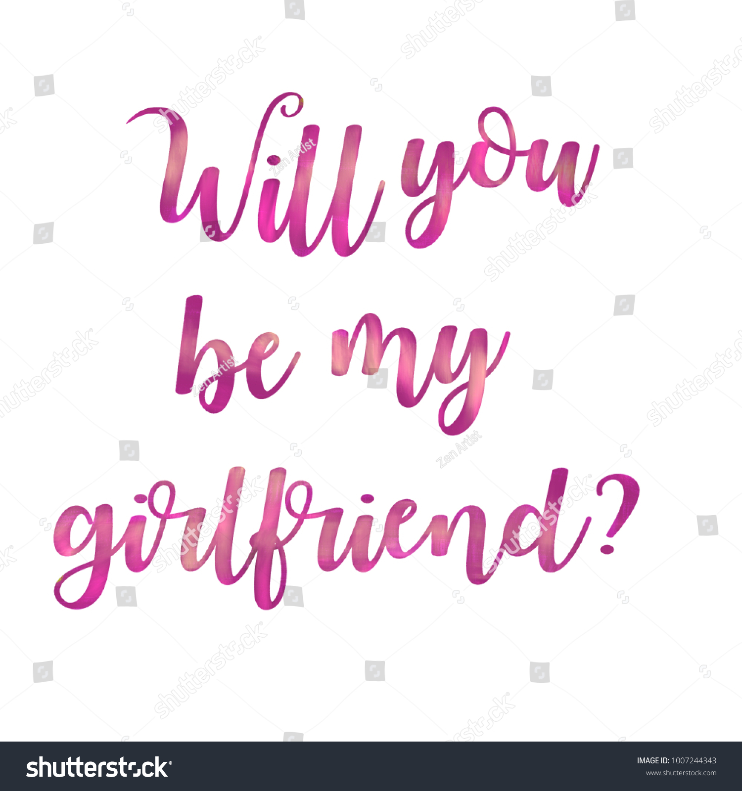 Will You Be My Girlfriend Shirts