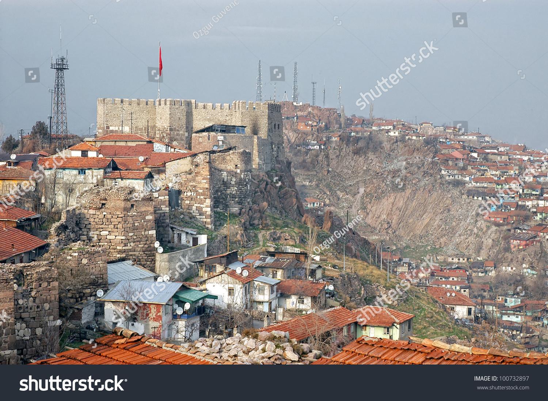 Ankara Castle,Ankara,Turkey Stock Photo 100732897 ...