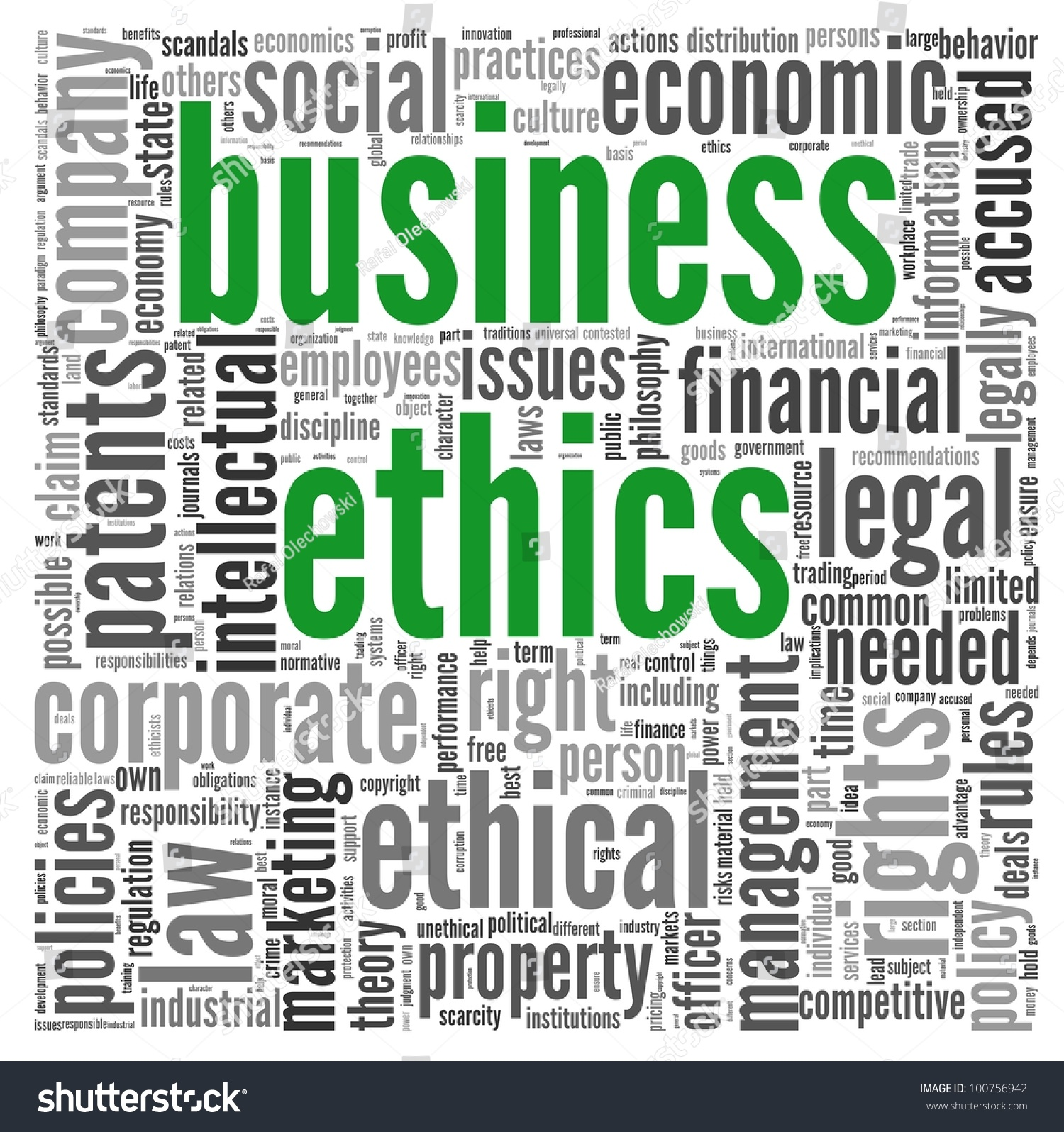 the concept of business ethics Encyclopedia of business, 2nd ed business ethics: bo-co.